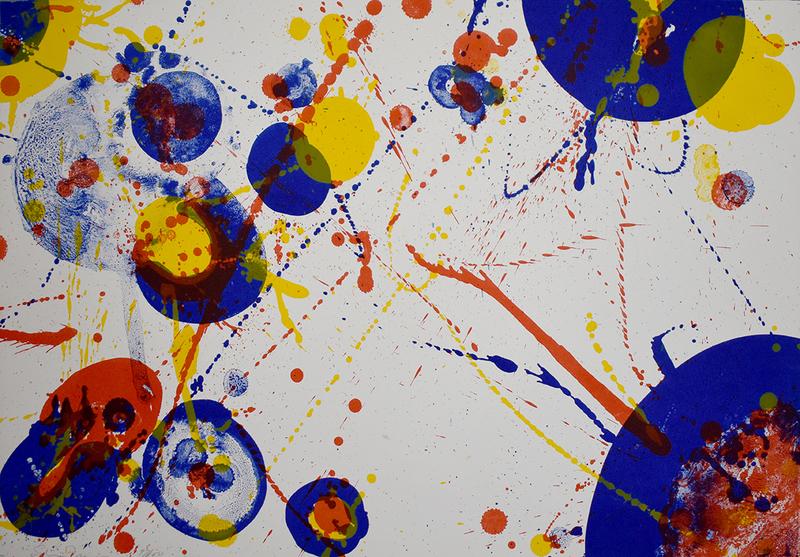 Sam FRANCIS - Print-Multiple - An 8 set-7, from: Pasadena Box (SF-71)