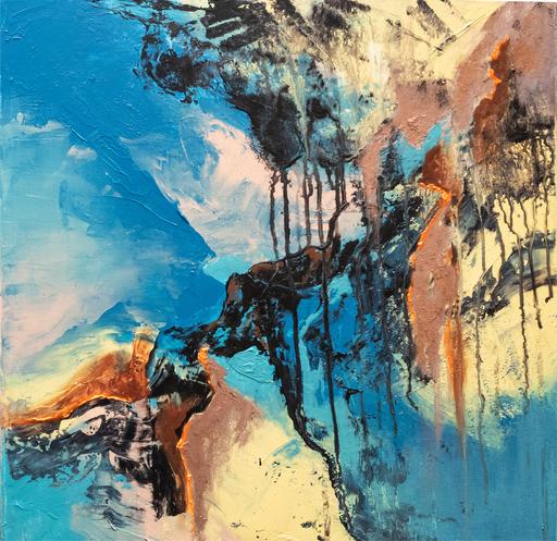 Françoise DUGOURD CAPUT - Painting - Passe-temps