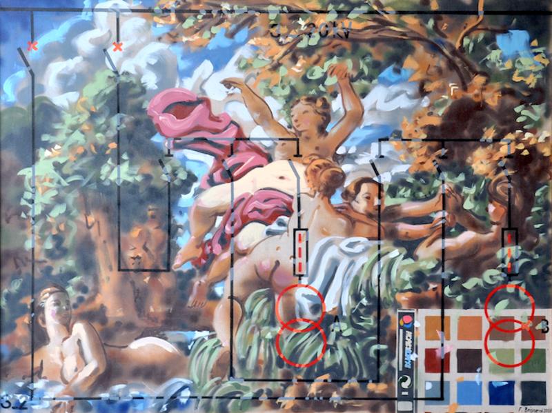 François BOISROND - Gemälde - sans titre
