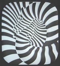 Victor VASARELY - Céramique - Zebra Ceramique