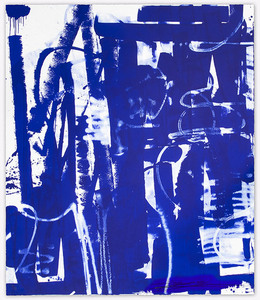 ZES - 版画 - Lasting (Blue Edition)