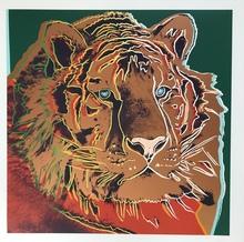 安迪·沃霍尔 - 版画 - Siberian Tiger from Endangered Species
