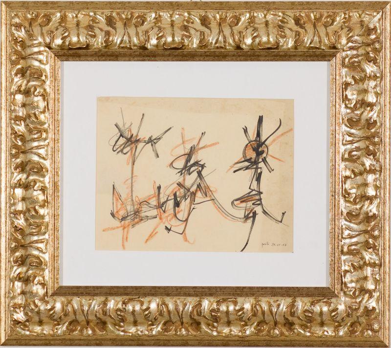Achille PERILLI - Painting - Senza titolo