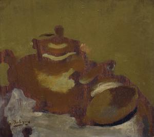 Georges BRAQUE - Painting - Thèiére et Citron
