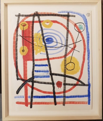 Albert CHUBAC - Disegno Acquarello
