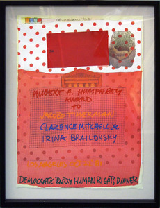 Robert RAUSCHENBERG - Stampa Multiplo - Democratic Party Human Rights Dinner