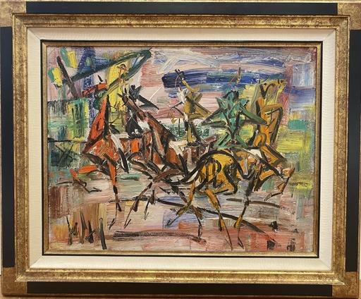 GEN PAUL - Pintura - Les cavaliers