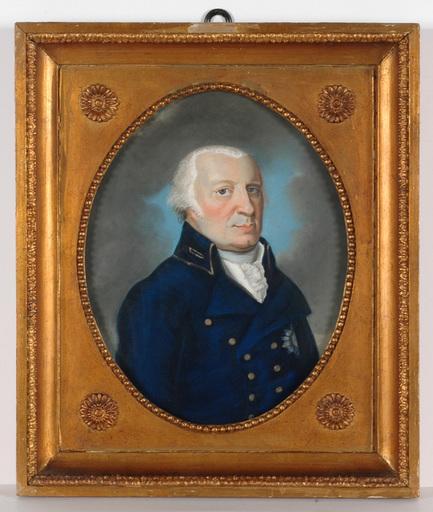 "Johann Christian A. SCHWARTZ (Attrib.) - Painting - ""Duke of Brunswyck"", pastel, late 18th Century"