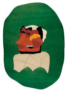 Ugo NESPOLO - Peinture - La maschera e il volto
