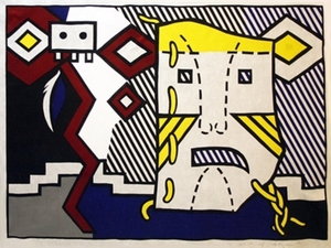 Roy LICHTENSTEIN, American Indian Theme V