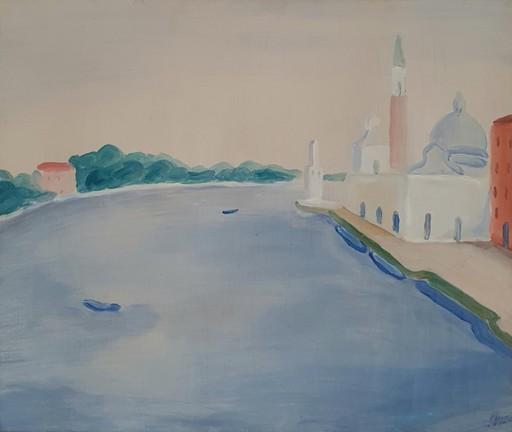 Virgilio GUIDI - Peinture - San Giorgio