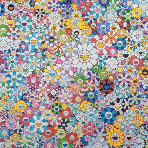 Takashi MURAKAMI - Print-Multiple - When I Close my Eyes, I see Shangri-la
