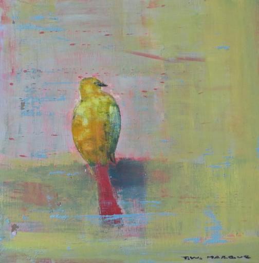 Tung-Wen MARGUE - Painting - Le chant des oiseaux (4)