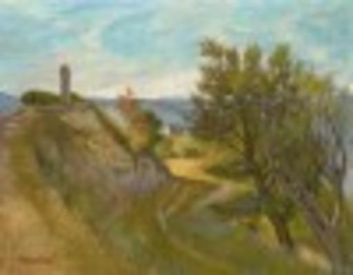 Jacques MARKIEL - Peinture - Landscape