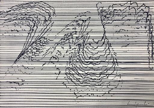 Bernard QUENTIN - Drawing-Watercolor - Composition electronique