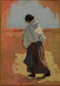 Giuseppe DANIELI - Peinture - Figura
