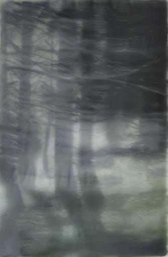 Jean-Marc AMIGUES - Pittura - Sous bois à Espierba