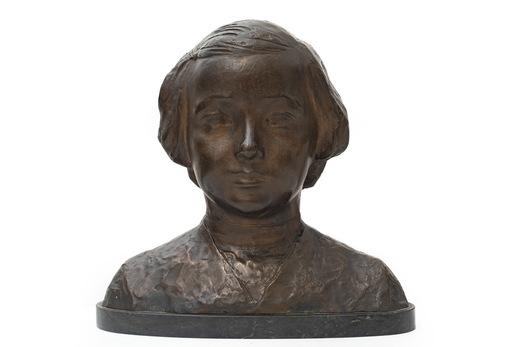 Ercole DREI - Sculpture-Volume - busto di giovinetta