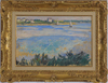Jean PUY - Pintura - Voilier en Bord de Mer