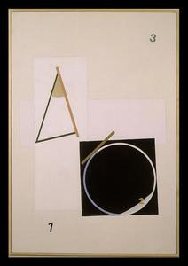 Eduard SCHTEINBERG - Peinture - Composition, December, Paris