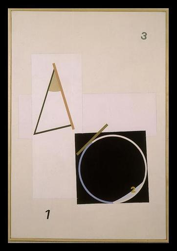Eduard SCHTEINBERG - Pintura - Composition, December, Paris