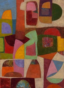 Roberto MINIATI - Painting - Struttura ritmica