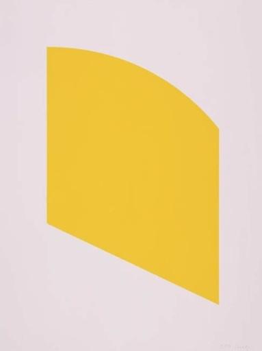 Ellsworth KELLY - Estampe-Multiple - Yellow