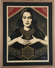 Shepard FAIREY - Print-Multiple - Peace & Justice Woman