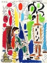 Pablo PICASSO - Estampe-Multiple - L'atelier de Cannes (1956)