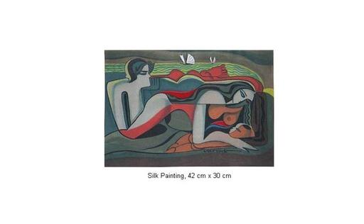 Mai LONG - Painting - Family Resting, Long 09