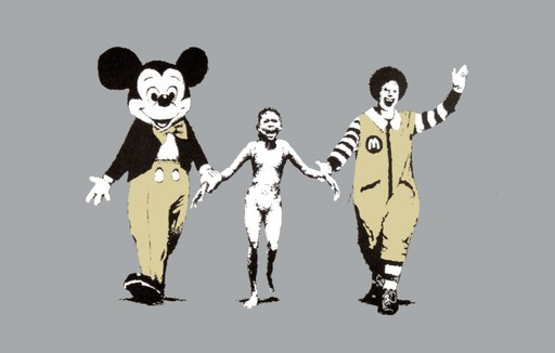 BANKSY - Stampa Multiplo - Napalm