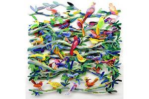 David GERSTEIN - Sculpture-Volume - EXOTIC BIRDS