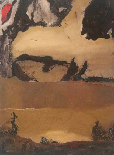 Francis MOREAU - Peinture - Le sceptre du vent