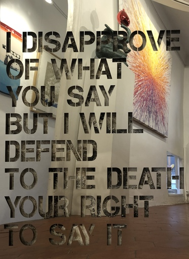 JOSEPH - Pittura - DISAPPROVE OF WHAT YOU SAY