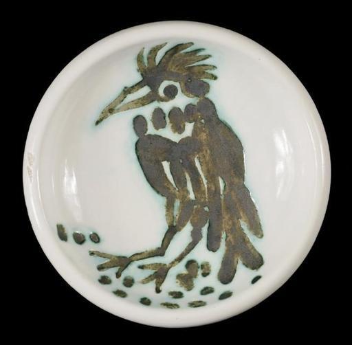 Pablo PICASSO - Ceramiche - oiseau a la huppe