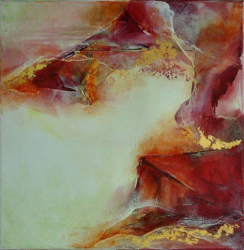 Françoise DUGOURD CAPUT - Painting - Canyon