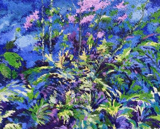 Lelia PISSARRO - Painting - Roger Howard's ferns