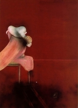 Francis BACON (1909-1992) - Second Version, Triptych 1944, left panel