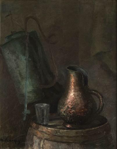 Olivier FLORNOY - Gemälde - Still life with jug