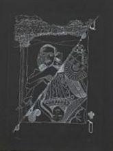 MAN RAY - Print-Multiple - Dame de Trefle II