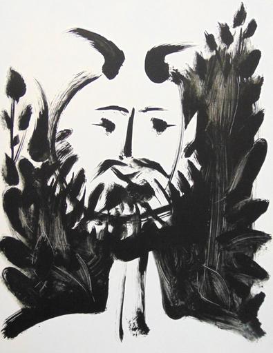Pablo PICASSO - Print-Multiple - Smiling Faun / Faune Souriant