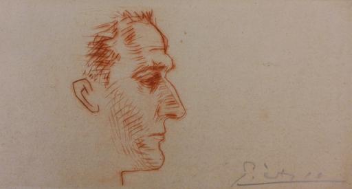 Pablo PICASSO - Stampa-Multiplo - Portrait of Marcel Boudin