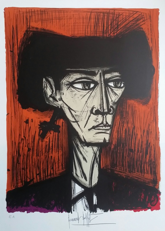 Bernard BUFFET - Print-Multiple - ESCAMILLO