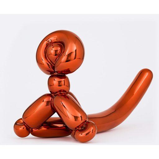 Jeff KOONS - Sculpture-Volume - Balloon Monkey (Orange)