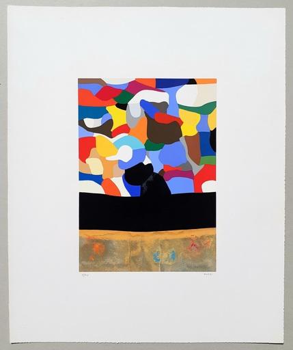 Alberto BURRI - Print-Multiple - Serigrafia 3-D