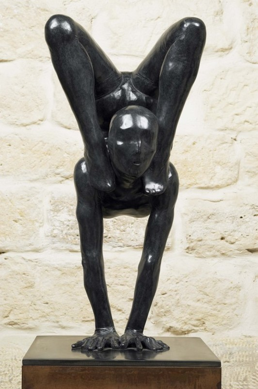 Mauro CORDA - Sculpture-Volume - Contorsionniste I