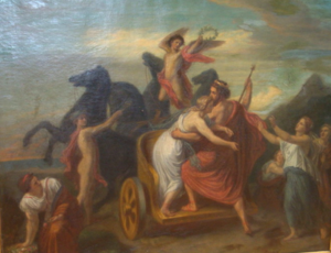 Johann Baptiste BERDELLE - Pintura - Raub der Proserpina