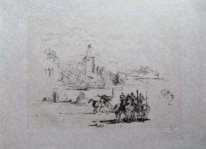 萨尔瓦多·达利 - 版画 - Rome und Cadaques