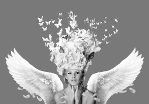 Hans DIRTY - Stampa Multiplo - Bridget Flight of Fantasy