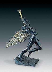 萨尔瓦多·达利 - 雕塑 - Triumphant Angel, Ange surréaliste